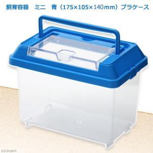 飼育容器 ミニ 青(175×105×140mm) プラケース 虫かご 昆虫 カブトムシ クワガタ 関東当日便|chanet