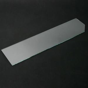 プレコ ガラスフタ GLASIA GL−600・GL−630C用 1枚(幅58.5×縦14.4cm 厚さ3mm) 関東当日便