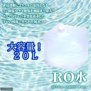 (水草)足し水くん テナーボトル RO水 20リットル 送料無料 航空便不可・沖縄不可 北海道航空便要保温|chanet
