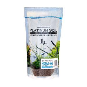 JUN プラチナソイル ブラウン ノーマル 1L 熱帯魚 用品