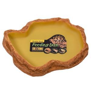 メーカー:ジェックス 品番:4086 フィーディングディッシュ L 自然の岩をイメージしたテラリウム...