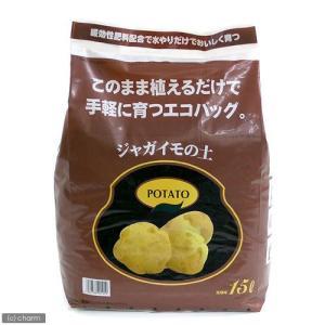 このまま植えられるジャガイモの土 15L(5kg) エコバック 園芸 培養土 お一人様2点限り 関東当日便...