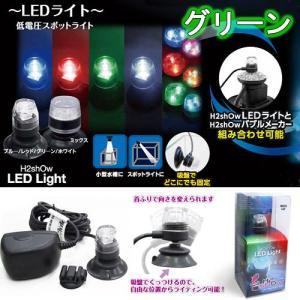 アウトレット品 H2shOw LEDライト グリーン 水槽用照明 LEDライト アクアリウムライト 訳あり 関東当日便|chanet