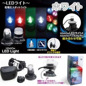 H2shOw LEDライト ホワイト 水槽用照明 LEDライト アクアリウムライト 関東当日便|chanet