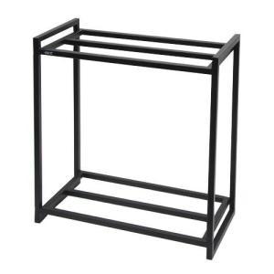 GEX 水槽台 60cm水槽用組立2段台 ブラック 60cm水槽用(キャビネット) ジェックス 関東当日便|chanet