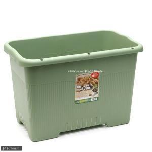 リッチェル 菜園上手 ジャンボ65型(グリーン)家庭菜園 園芸 野菜 同梱不可