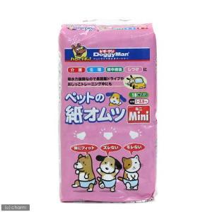 ドギーマン NEWペットの紙オムツミニ 18枚入 犬 猫用紙おむつ おもらし ペット 関東当日便|chanet