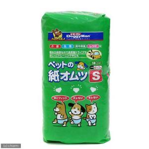 ドギーマン NEWペットの紙オムツS 18枚入 おもらし ペット 関東当日便|chanet