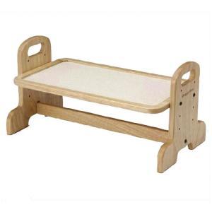 ドギーマン ウッディーダイニング M 犬用・猫用食器台 トレー