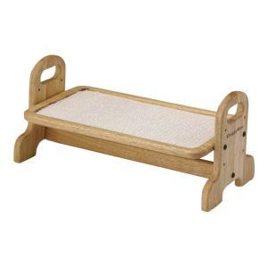 ドギーマン ウッディーダイニング S 犬用・猫用食器台 トレー