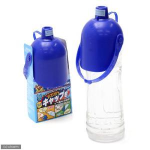 ドギーマン おでかけボトルキャップ君 ブルー 給水   水筒 関東当日便|chanet
