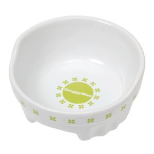 メーカー:ドギーマン 品番:▼▲ すべりにくく安定感は抜群! すべり止め付 便利なクローバー陶製食器...