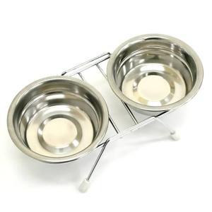 メーカー:ドギーマン カタカタと嫌な音がしない!ペットも飼い主も快適な食器です! オリジナル開発の防...