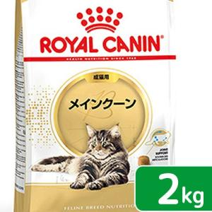 ロイヤルカナン 猫 メインクーン 成猫用 2Kg 3182550710640 お一人様5点限 ジップ付 関東当日便|chanet
