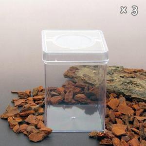 メーカー:ディキャッツ 品番:▼▲ 通気口付きの便利な容器! ディッシュボトル 角型(72×72×1...