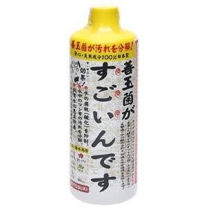 コトブキ工芸 kotobuki 善玉菌がすごいんです 500mL バクテリア 熱帯魚 観賞魚 関東当日便|chanet