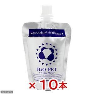 H4O PET 100mL(ペット用ウォーター) 10本 犬 ペットウォーター ドリンク 関東当日便|chanet