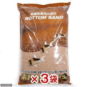 お一人様1点限り スドー 箱売り ボトムサンド 5kg 1箱3袋入り 関東当日便
