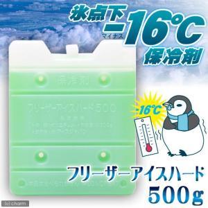 保冷剤 フリーザーアイスハード 500g 氷点下16℃タイプ    ひんやり 関東当日便 chanet