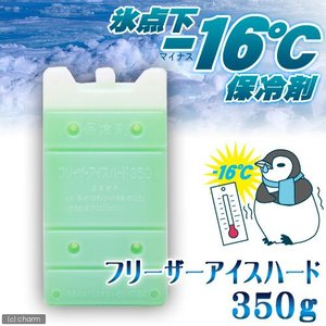 保冷剤 フリーザーアイスハード 350g 氷点下16℃タイプ    ひんやり 関東当日便 chanet