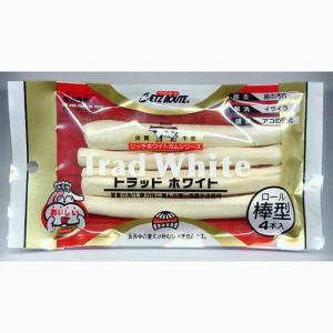 ペッツルート トラッドホワイトガム 棒型 4本入 犬 おやつ トラッドホワイトガム 関東当日便|chanet