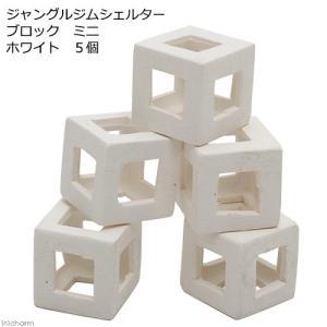 ジャングルジムシェルター ブロック ミニ ホワイト 5個