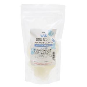 高タンパク乳酸菌ゼリー カルシウムプラス ヨーグルト味 16g×12個 昆虫 爬虫類用