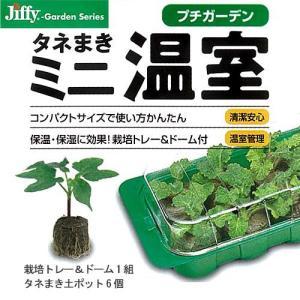 ジフィープチガーデン(タネまきミニ温室)(6個入り)(栽培トレー&ドーム、説明書付き) サカタのタネ