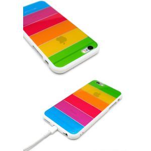 453cc03007 ... iPhone6s ケース iPhone6 ケース カバー レインボーケース ハードケース クリア ブランド アイフォン6s アイホン6s  iPhone6s ...