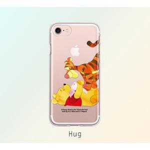 ディズニー プーさん iPhone XR iPhone8 iPhone7 TPU クリア ソフト ケース かわいい おしゃれ キャラクター スマホケース|changing-my-life|06
