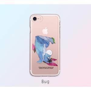 ディズニー プーさん iPhone XR iPhone8 iPhone7 TPU クリア ソフト ケース かわいい おしゃれ キャラクター スマホケース|changing-my-life|07