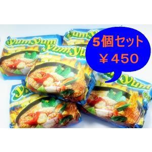 インスタントヌードル スパイシーシーフード味 5袋セット|chankrung-store