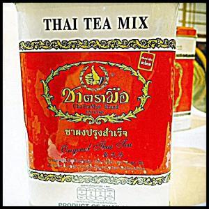 タイ産 紅茶  アイスティー ホットティー ミルクティー ティー グリーンティー 缶 おしゃれ お土産 お取り寄せ 輸入 タイ 海外 プチギフト プレゼント 贈り物|chankrung-store