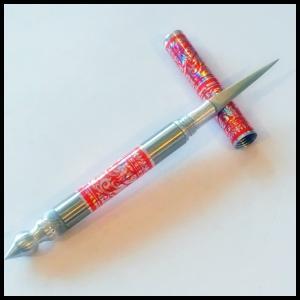 カービングナイフ(赤色)カービングナイフ フルーツカービング 軽量 上級カービングナイフ 職人ナイフ|chankrung-store