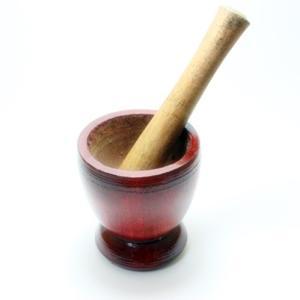ソムタム用鉢 棒セット木製|chankrung-store