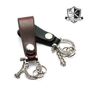 ■品名:シャックル付きループキーホルダー  ■LOT:IPSK-01  ■素材:  UKサドルレザー...
