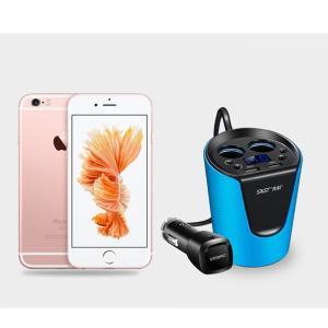 SAST シガーソケット カーチャージャー 12V-24V対応 USB 2ポート 車載充電器 iPhoneやiPadなど同時充電可能(ブルー) 【並行輸入品】|chaoyiliu|07
