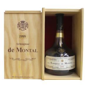 ド・モンタルは、アルマニャック地方で12世紀から続く旧家の名前です。 原酒は伝統的な蒸留器で1回だけ...