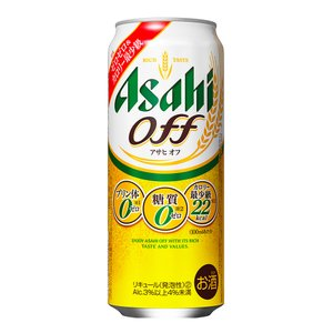 第3ビール アサヒ Off(オフ)500mlケース(24本入り) (プリン体0.00・糖質0・人工甘...
