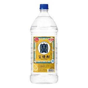 宝酒造 宝焼酎 エコペット 20° 2700ml