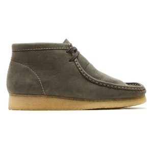 CLARKS WALLABEE BOOT (DARK GREEN LEATHER) 15FW-I|chapter-ex