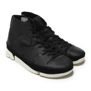 CLARKS Trigenic Flow (Black Leather) 17FW-I|chapter-ex