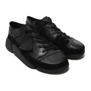 CLARKS Trigenic Evo (Black Leather) 17FW-I|chapter-ex