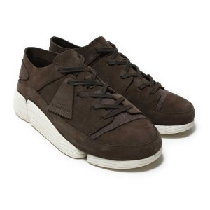 CLARKS Trigenic Evo (Grey Suede) 17FW-I|chapter-ex