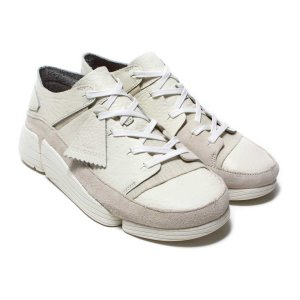 CLARKS Trigenic Evo (White Leather) 17FW-I|chapter-ex