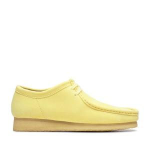 クラークス Clarks スニーカー ワラビー (Pale Yellow) 19SP-I chapter-ex