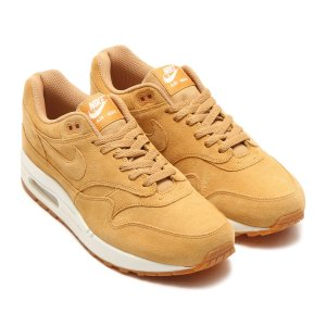 NIKE AIR MAX 1 PREMIUM (FLAX/FLAX-SAIL-GUM MED BROWN) 17HO-S|chapter-ex
