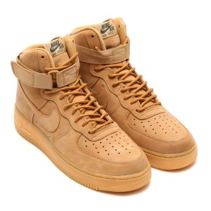 NIKE AIR FORCE 1 HIGH '07 LV8 WB (FLAX/FLAX-OTDR GRN-GM LT BRWN) 17HO-S|chapter-ex
