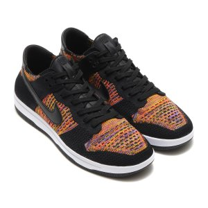 NIKE DUNK FLYKNIT (BLACK/WHITE-HYPER CRIMSON-BRIGHT CITRON) 17FA-S|chapter-ex
