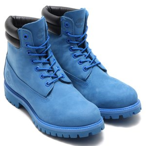 ティンバーランド × アトモス Timberland  6インチ ダブル カラー ブーツ (BLUE NUBUCK) 16FW-S chapter-ex
